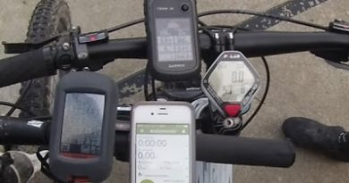 Comparativa GPS Garmin Etrex 30 vs Garmin Dakota 20 vs Iphone 4
