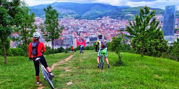 Entrando en Bilbao