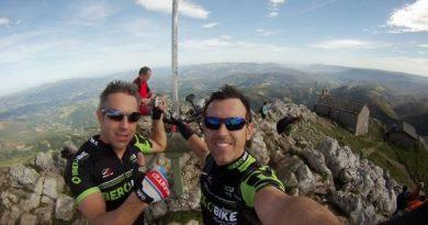 """Conquistada la cumbre """"con las bicis"""
