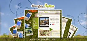 Interface de la web www.campoactivo.com