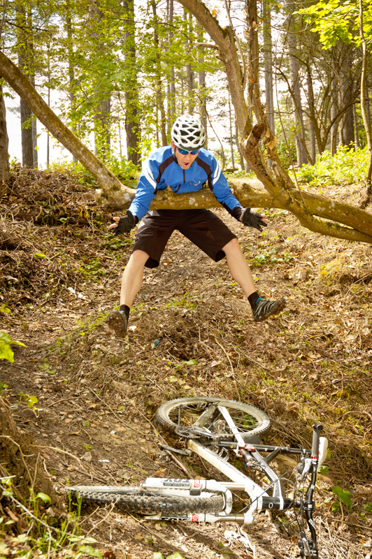 Accidente de ciclismo