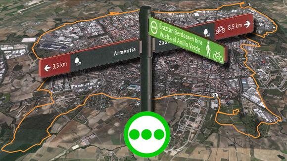 indicadores de anillo verde