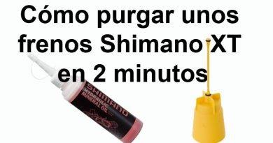 Cómo purgar los frenos Shimano XT en 2 minutos