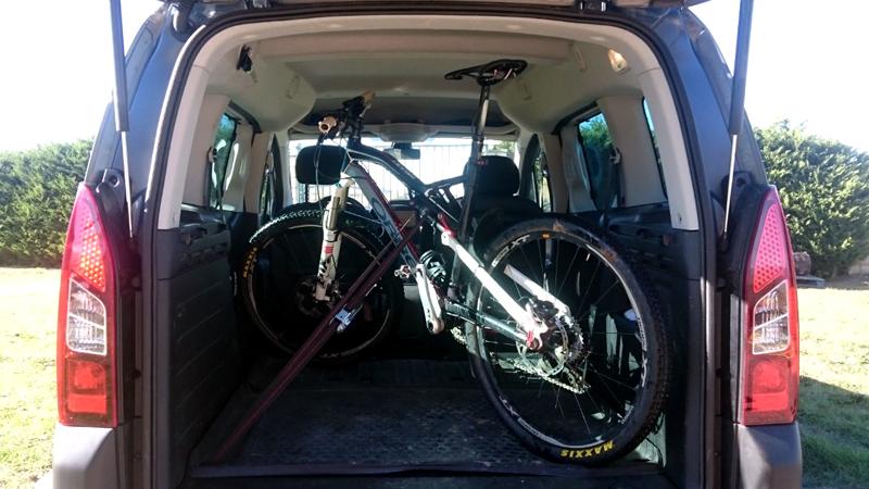 Como llevar la bici en el coche
