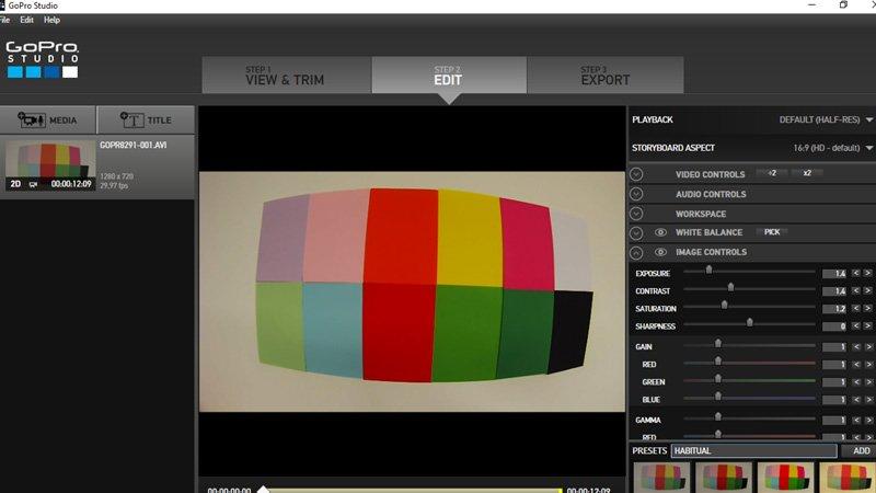 GoPro studio retoques