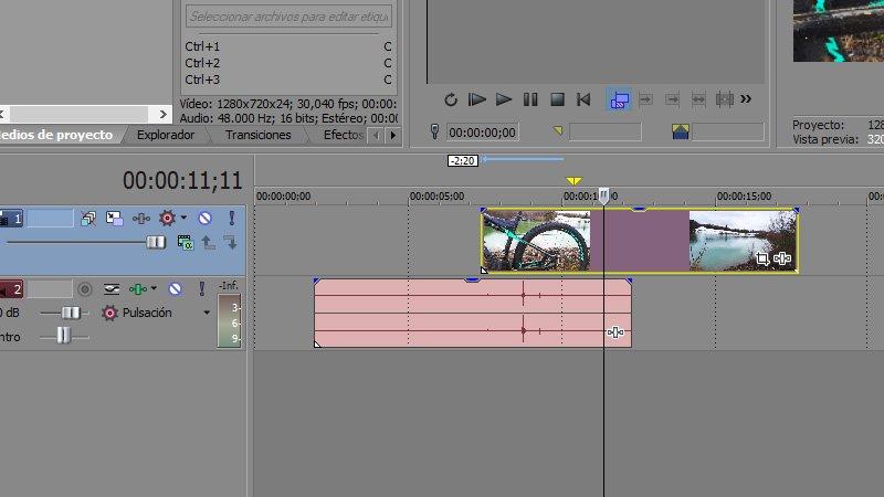 Sony Vegas Edición Básica De Vídeos Para Youtube V