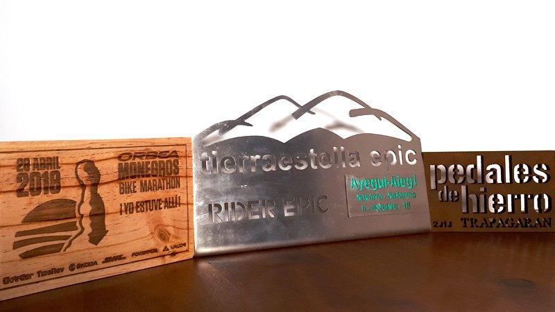 Trofeos y recuerdos MTB