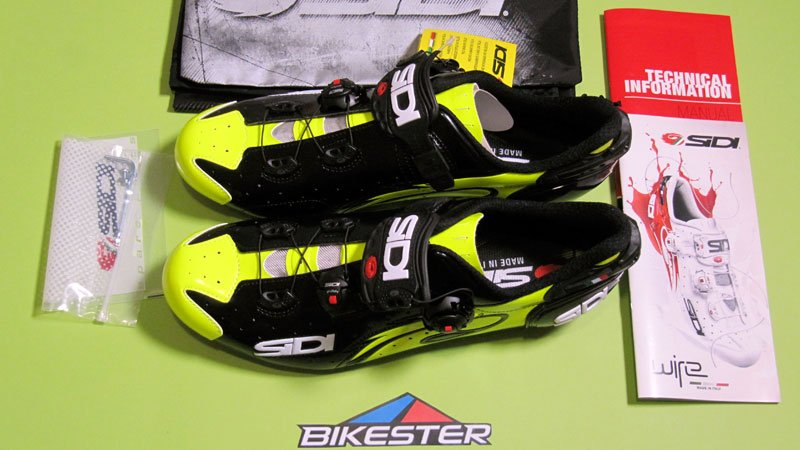 Pack Sidi Wire Carbon Lucido