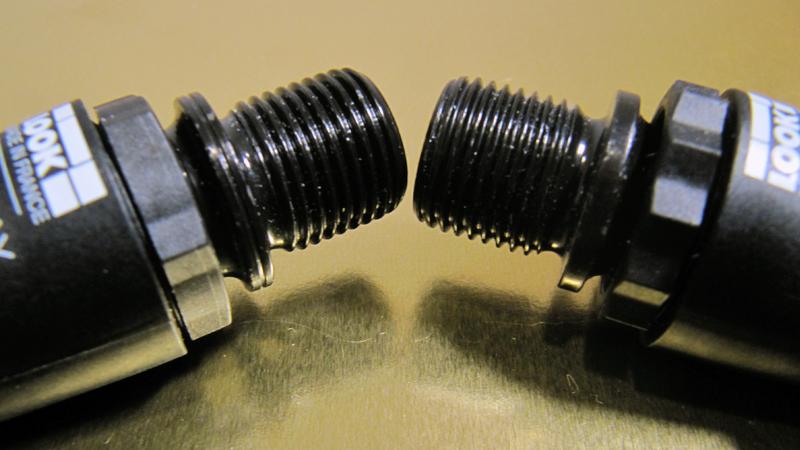 Pedal izquierdo y derecho
